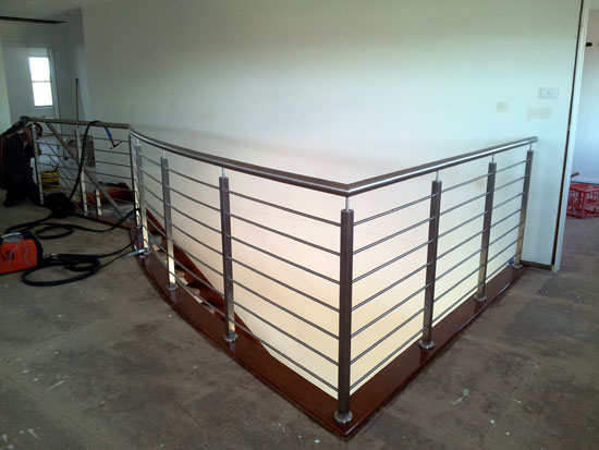 Stainless Steel Staircase Handrail 1